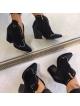 PIĘKNE POLSKIE BOTKI KOWBOJKI NOWEJ GENERACJI 2019 Calzado Queen CZARNE